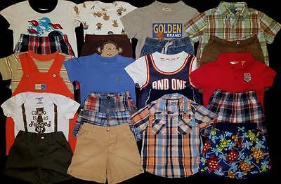Baby Boy 18 months Summer Clothes Outfits Lot Free Ship!