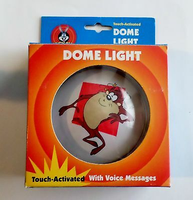Looney Tunes Taz Dome Light with Voice Message, Warner Bros 1999