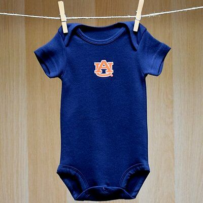 Auburn Tigers Baby Infant Short Sleeve Creeper (FREE SHIPPING) 0-3 months