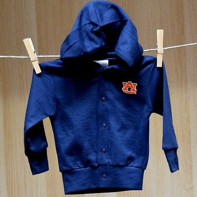 Auburn Tigers Baby Infant Hooded Jacket Sweater (FREE SHIPPING) 0-3 months