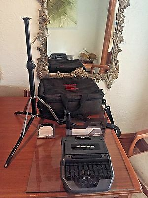 STENTURA 200 SRT Stenograph Steno Machine Writer Court Reporting w/ tripod
