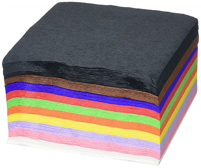 Clairefontaine Maildor Diverse Paper Crepe Paper - Multi-Coloured, 200 Sheets