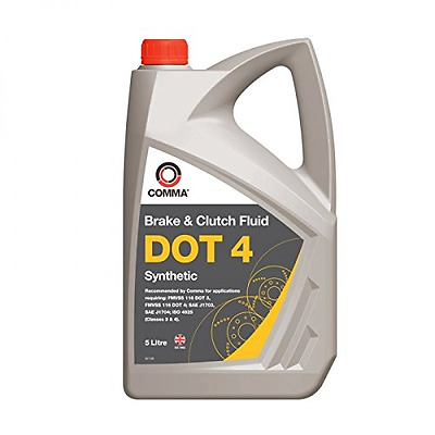 Comma BF45L 5L Dot 4 Synthetic Brake Fluid