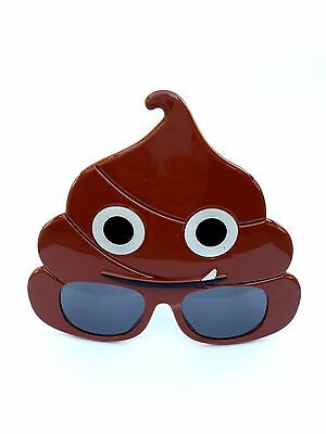 Sunstaches Emotion Poo Sunglasses Emoji glasses Party Favor Christmas Day Funny