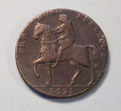 Lady Godiva 1795 Coventry 1/2 Penny World Coin token Great Britain Warwickshire