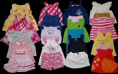 Baby Girl 0/3 & 3/6 Month Summer Clothes Outfits Sets Lot Free Ship!