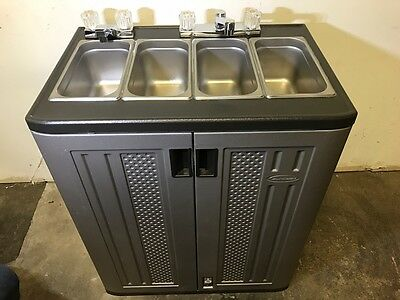 Portable Concession Sink Hand Wash Compartment Hot Water Self Contained