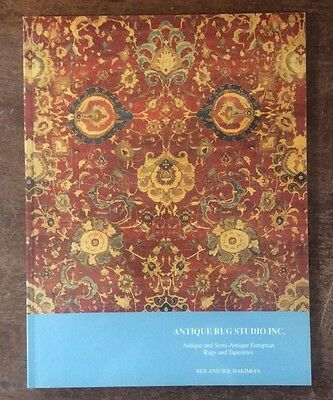 Antique Rug Studio softcover book European Rugs & Tapestries Hakimian