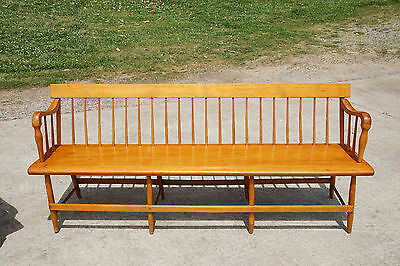 Pair of large Windsor benches