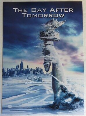 7 1/2 x10 THE DAY AFTER TOMORROW MINI MOVIE POSTER                 (INV13229)