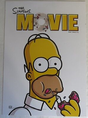 7 1/2 x10 THE SIMPSONS MINI MOVIE POSTER                 (INV13230)