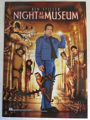 7x10 NIGHT AT THE MUSEUM MINI MOVIE POSTER                  (INV13216)