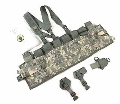 us army tactical assault panel TAP ACU COMBAT CHEST RIG ARMY w/ SHOULDER STRAPS