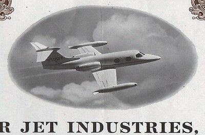 1975 Lear Jet Corporation / Gates Learjet Corporation - $8000 Debenture