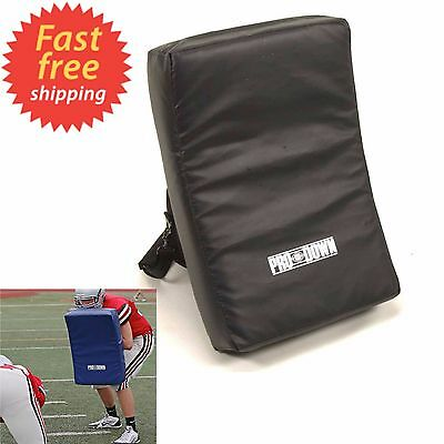 Pro Down Shield Football Basketball Blocking Shield Pad Training Equipment Black