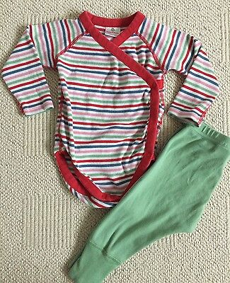 Hanna Andersson Onesie And Pants Outfit Size 75