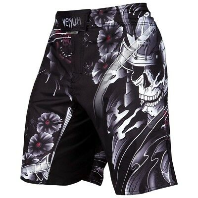 VENUM MMA Fight Shorts, Samurai Skull, Training Wettkampf Hosen Short, Grappling