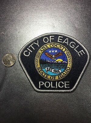City Of Eagle Idaho Police Department Patch Id