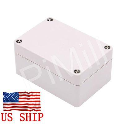 Plastic Project Box Enclosure Case Electronic DIY Waterproof 100x68x50mm Gray US