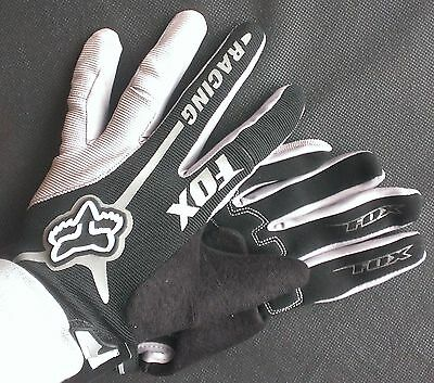NEW 2017 Fox Team Racing Men's Full Fingered Cycling Gloves With Gel Padding