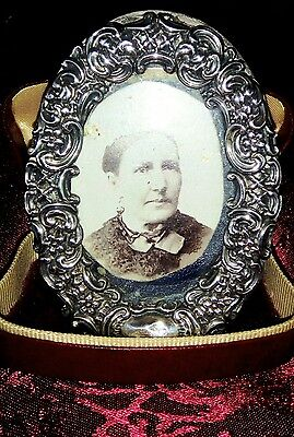 Antique Victorian Sterling Silver Photo Frame Fully Hallmarked