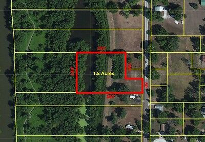 1.8 Acre FISHING Camping Home Buildable Lot in Meredosia, IL River Hunting