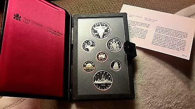 Absolutely Stunning 1982 Canada Double Dollar Proof Set