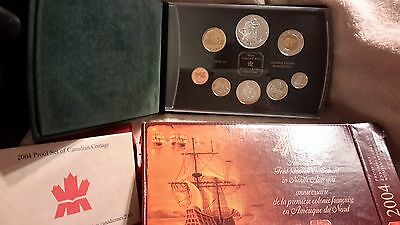Stunning 2004 Canada Silver Proof Set