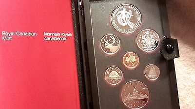 Absolutely Stunning 1983 Canada Double Dollar Proof Set