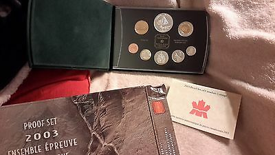 Stunning 2003 Canada Silver Proof Set