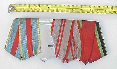 Russian Soviet Military Ribbon Bar Armed Forces Ussr Wwii War Medal Order Award
