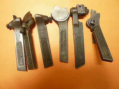 Lathe Tool Turning Holder  Lot Of 6 Vintage Machinist Tools