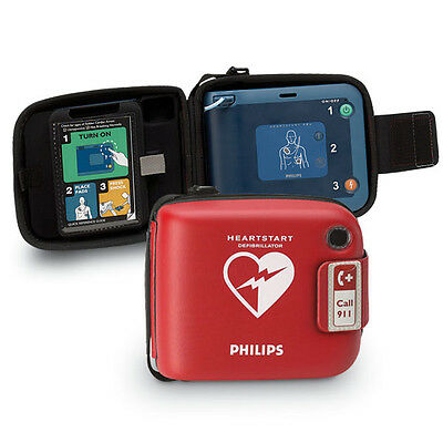 Philips HeartStart FRx AED Package with Semi-Rigid Defibrillator Carry Case