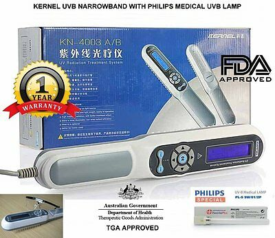 Kernel 311nm NB UVB Philips light therapy lamp for vitiligo eczema dermatitis