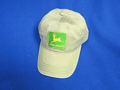 John Deere NEW Cap Tractor Equipment Farm planter mower Ag Construction Grn