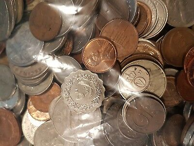 world coins - bulk lot of 200 grams