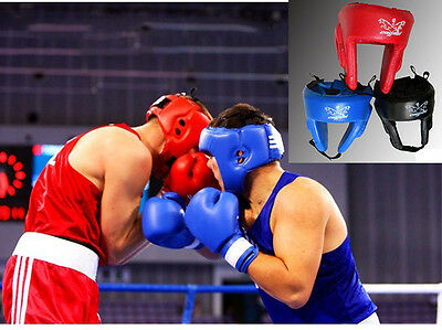 Boxing MMA Protector Headgear UFC Fighting Head Guard Sparring Helmet