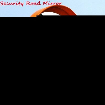 18''/45cm Wide Angle Security Convex Curved Road Mirror Traffic Driveway Safety
