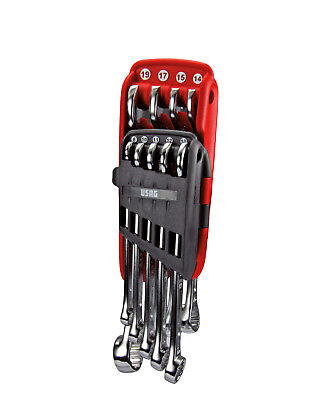 Usag 285 De/s9 Set Serie 9 Chiavi Combinate Forchetta E Stella Professionali