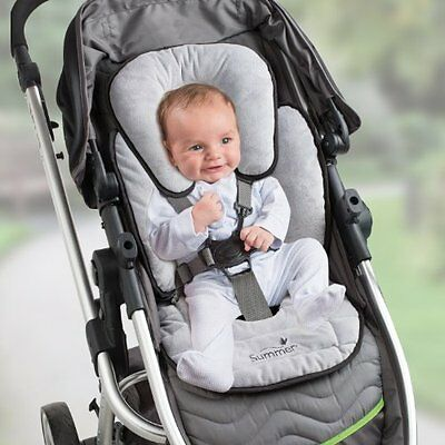 Infant Snuzzler Baby Summer Padding Pads Body Support Car Seats Liner Head NEW