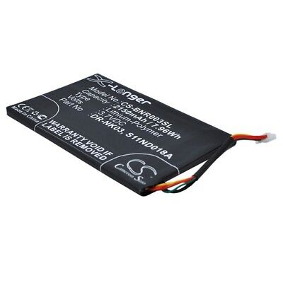 Replacement Battery For BARNES & NOBLE BNRV300