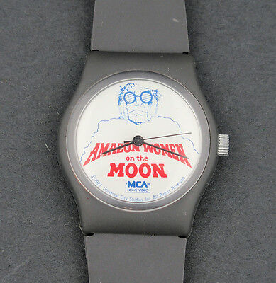RARE 1987 Amazon Women on the Moon Movie Promotional Character Watch MCA