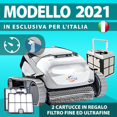 DOLPHIN MAYTRONICS POOLSTYLE AG ADVANCE DIGITAL Robot Pulitore Piscina Elettrico