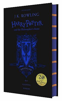 Harry Potter and the Philosopher's Stone 20th Anniversary Ravenclaw Ed. Hardback