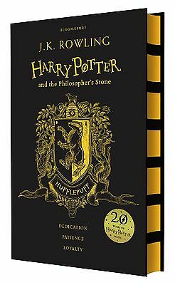 Harry Potter and the Philosopher's Stone 20th Anniversary Hufflepuff Ed Hardback