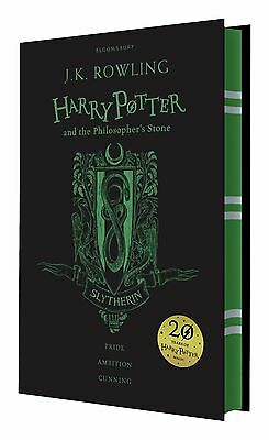 Harry Potter and the Philosopher's Stone 20th Anniversary Slytherin Ed. Hardback