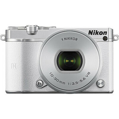 Nikon 1 J5 Mirrorless Digital Camera with 10-30mm Lens (White)!! BRAND NEW!!