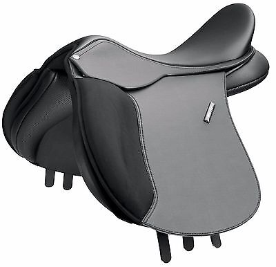 """Wintec 500 Wide Saddle - Cair In Brown or Black 17"""" Fitted with 2x Wide  Gullet"""