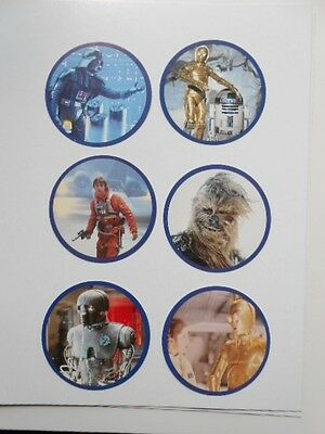 Star Wars York Peanut butter card set (only in Canada) 1981