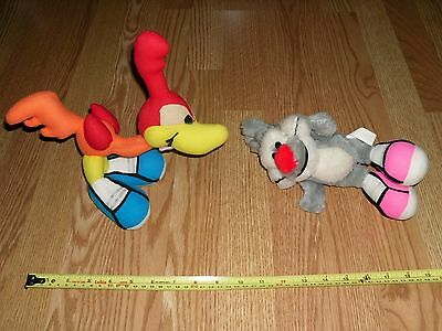 Warner Bros ACE Tiny Toons Little Beeper Calamity Coyote plush dolls toys 1990